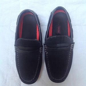 Levi's   Black Denim Driving Mocs Loafers